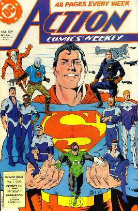 ACTION COMICS WEEKLY NO.601
