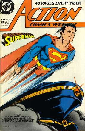 ACTION COMICS WEEKLY NO.617