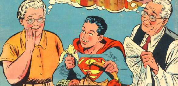 ADVENTURE COMICS NO.221 DETAIL