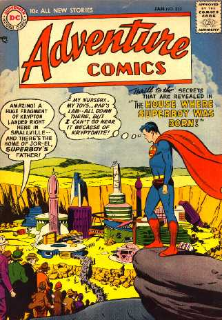 ADVENTURE COMICS NO.232
