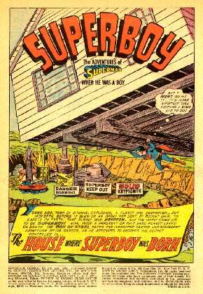 ADVENTURE COMICS NO.232 SPLASH PAGE