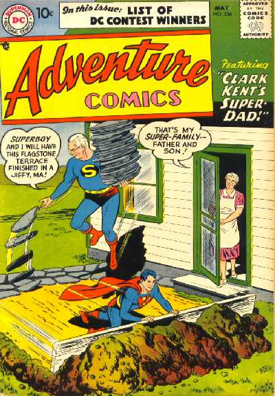 ADVENTURE COMICS NO.236