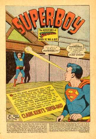 ADVENTURE COMICS NO.236 SPLASH PAGE