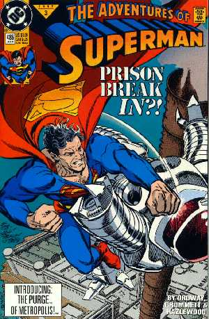ADVENTURES OF SUPERMAN 486