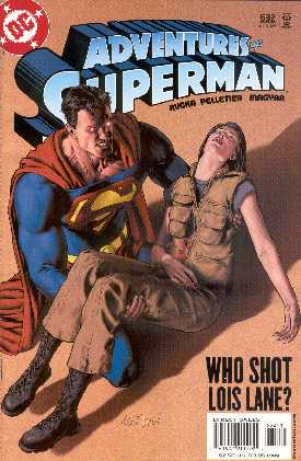 THE ADVENTURES OF SUPERMAN 632. (PORTADA DE GENE HA)