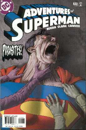 THE ADVENTURES OF SUPERMAN 633. (PORTADA DE GENE HA)