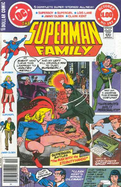 SUPERMAN FAMILY NO.197