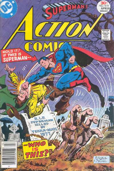 ACTION COMICS NO.470