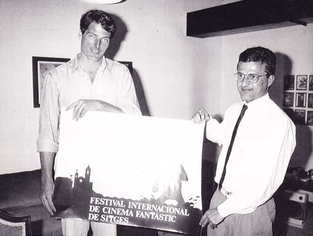 CHRISTOPHER REEVE Y ALEX GORINA