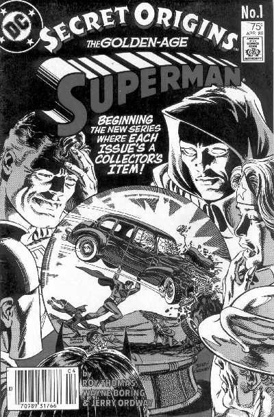 SECRET ORIGINS OF GOLDEN AGE SUPERMAN NO.1