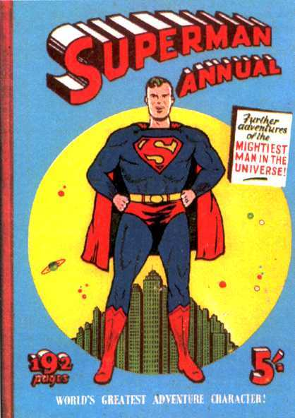 SUPERMAN BRITISH ANNUALS