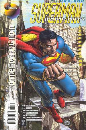 SUPERMAN IN ANTION COMIC 1.000.000