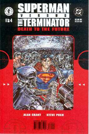 SUPERMAN VERSUS TERMINATOR NO.1 USA