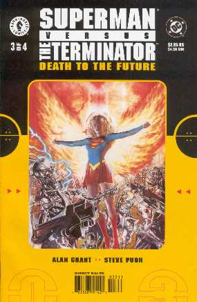 SUPERMAN VERSUS TERMINATOR NO.3 USA