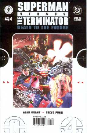 SUPERMAN VERSUS TERMINATOR NO.4 USA