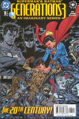 SUPERMAN & BATMAN GENERATION 3 NO.1