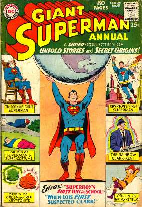 GIANT SUPERMAN ANNUAL NO.8