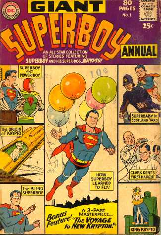 GIANT SUPERBOY ANNUAL NO.1