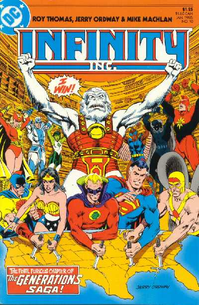 INFINITY INC NO. 7 DC COMICS