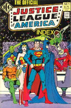 The Official JLA Index NO:1