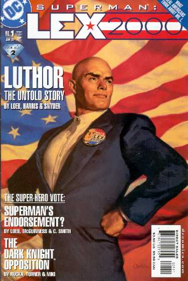 SUPERMAN: LEX 2000 NO.1