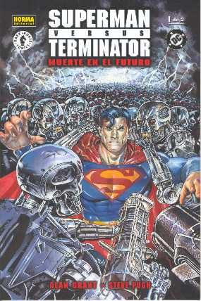 SUPERMAN VERSUS TERMINATOR NO.1 SPAIN