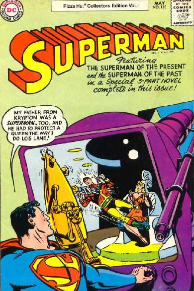 SUPERMAN NO.113 pizza hut