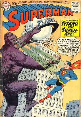 SUPERMAN NO.138