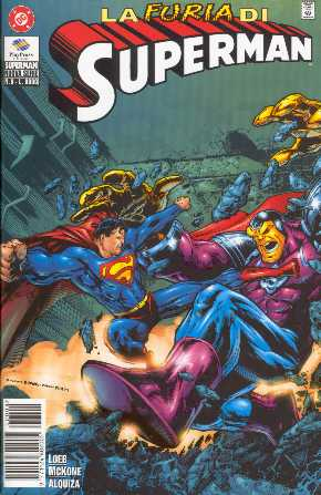 SUPERMAN NO.152 VERSION ITALIANA