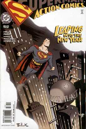 SUPERMAN IN ACTION COMICS 810 (PORTADA DE DAVE BULLOCK)