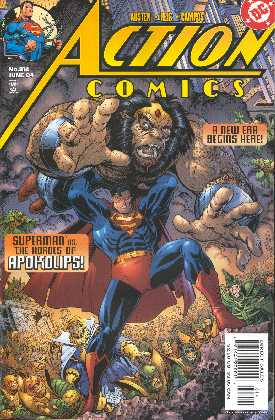 SUPERMAN IN ACTION COMICS 814 (PORTADA DE IVAN REISS)