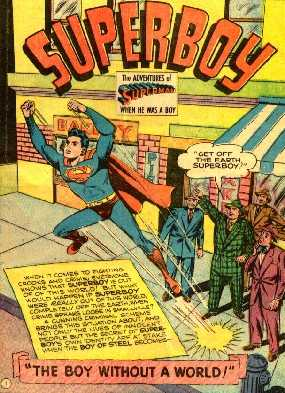 SUPERBOY 8 SPLASH PAGE 3