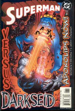 SUPERMAN VERSUS DARKSEID