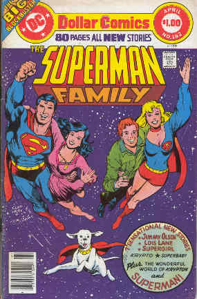 SUPERMAN FAMILY NO.182