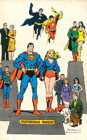 SUPERMAN FAMILY NO.181 BACK