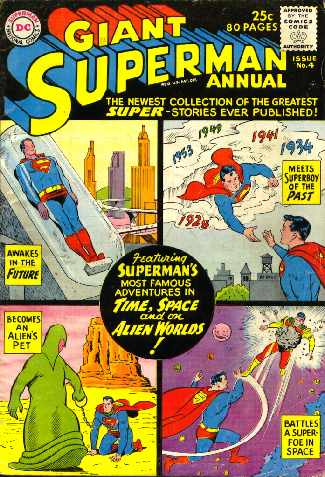 GIANT SUPERMAN ANNUAL NO.4