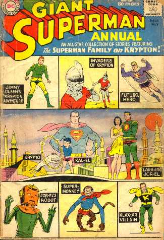 GIANT SUPERMAN ANNUAL NO.5