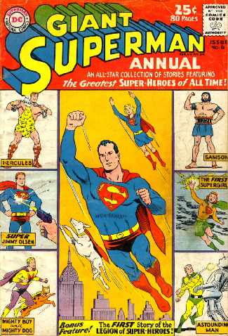 GIANT SUPERMAN ANNUAL NO.6