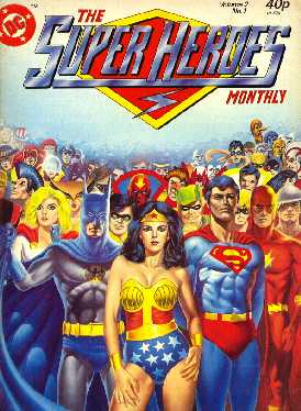 SUPER HEROES MONTHLY