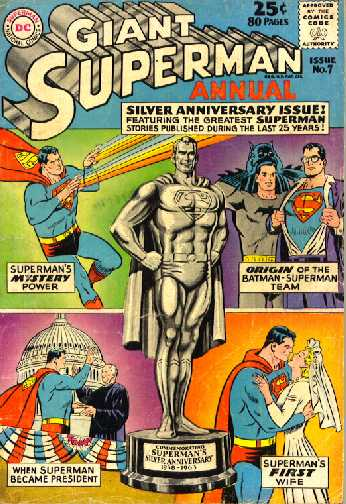 GIANT SUPERMAN ANNUAL NO.7