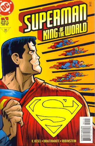 SUPERMAN KING OF THE WORLD