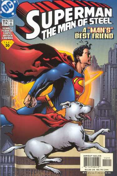 SUPERMAN THE MAN OF STEEL NO.112