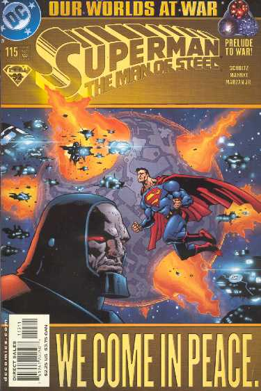 SUPERMAN THE MAN OF STEEL NO.115
