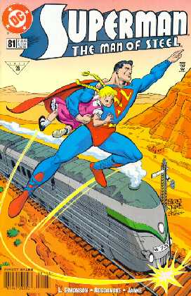 SUPERMAN MAN OF STEEL NO.81