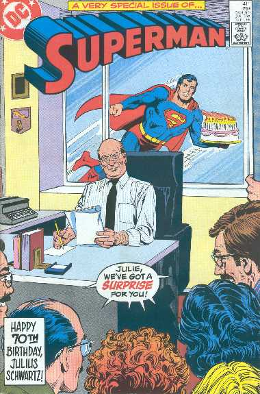 SUPERMAN NO.411
