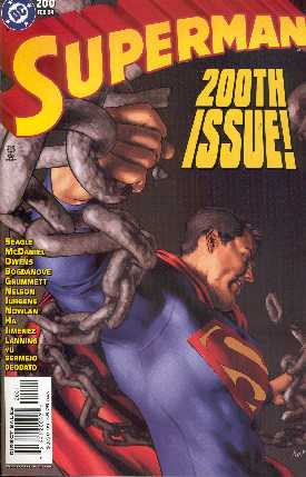 SUPERMAN 200 (PORTADA DE GENE HA)