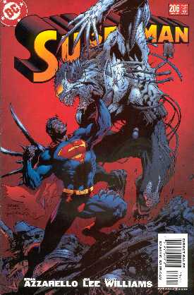 SUPERMAN 206 (PORTADA DE JIM LEE Y SCOTT WILLIAMS)