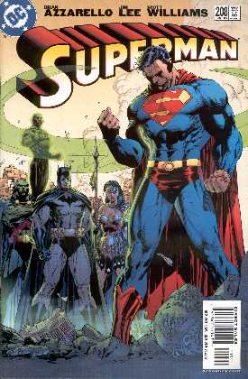 SUPERMAN 208. (PORTADA DE JIM LEE, SCOTT WILLIAMNS Y ALEX SINCLAIR)