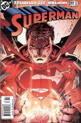 SUPERMAN 209. (PORTADA DE JIM LEE, SCOTT WILLIAMNS Y ALEX SINCLAIR)