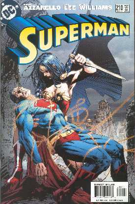 SUPERMAN 210. (PORTADA DE JIM LEE y SCOTT WILLIAMNS)